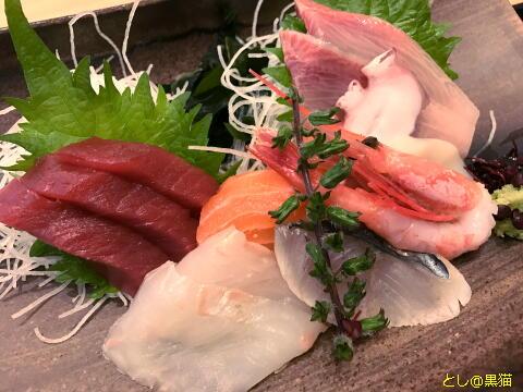 みなとみらい ワークアウト お魚どうらく 刺身定食