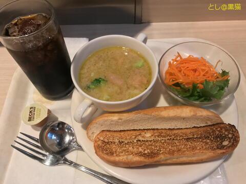 スープカレープレート グリーンカレー