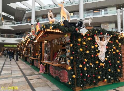 ラゾーナ川崎 クリスマス